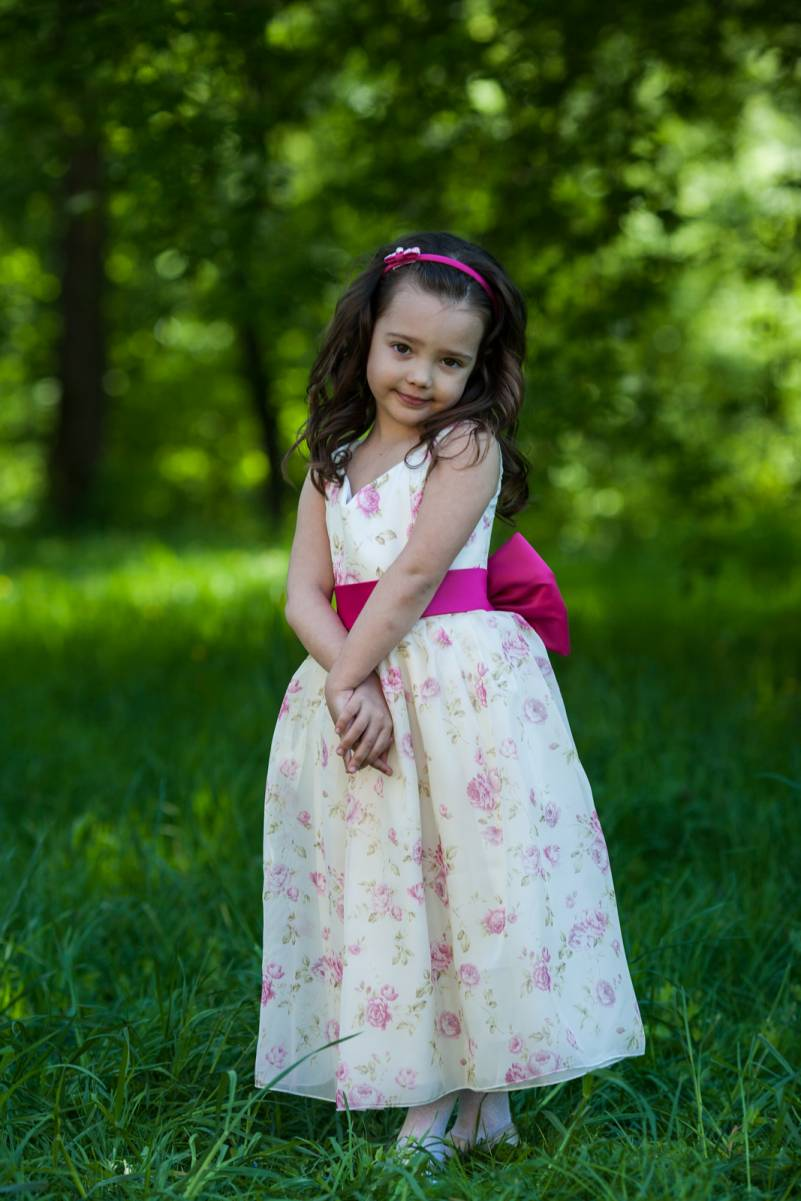 flower girl gown Violetta