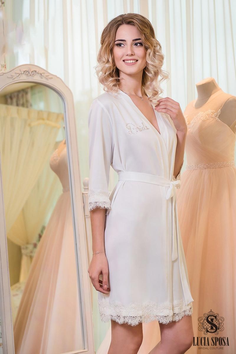 white boudoir gown