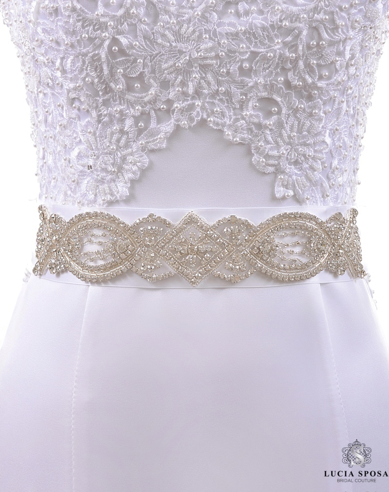 bridal sashes eb_EB-be-01 Lucia Sposa