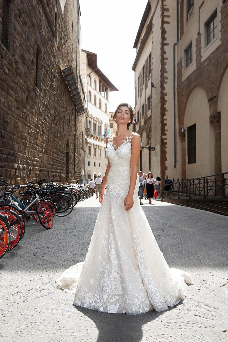 f849fca06d5e Wedding dress Erika 19-018 - Ricca Sposa bridal boutique