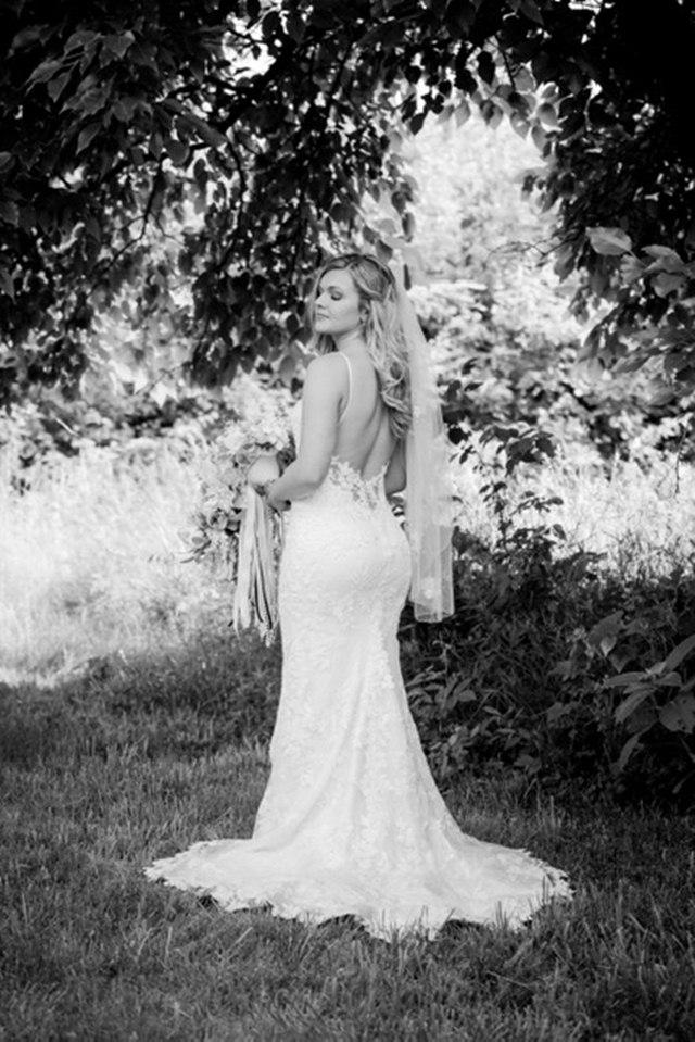 The dress: Carolina